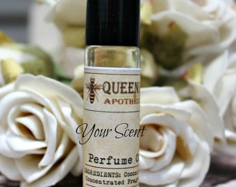 AMBER WHITE || Perfume Oil • 1/3 Ounce Roll On • Light, Seductive, Sexy, Musk