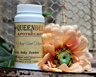 QBA Scents || CHOOSE • SCENT || Silky Body Powder • Talc Free • New 4 Ounce Size