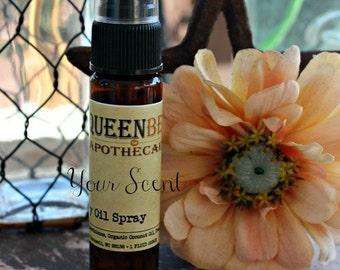 ORANGE BLOSSOM - Dry Oil Body Mist - Silky Perfume Spray - Hair/Body Safe