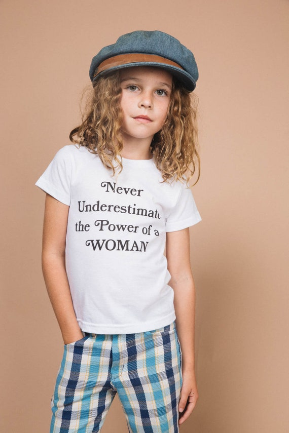 897092d9 Never Underestimate the Power of a Woman t-shirt by The Bee & | Etsy