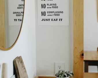 Letterpress: Kitchen Rules
