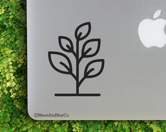 Plant                 , Laptop Stickers, Laptop Decal, Macbook Decal, Car Decal, Vinyl Decal
