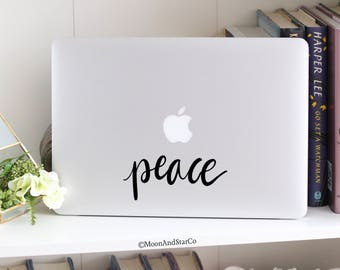 Peace (2), Laptop Stickers, Laptop Decal, Macbook Decal, Car Decal, Vinyl Decal