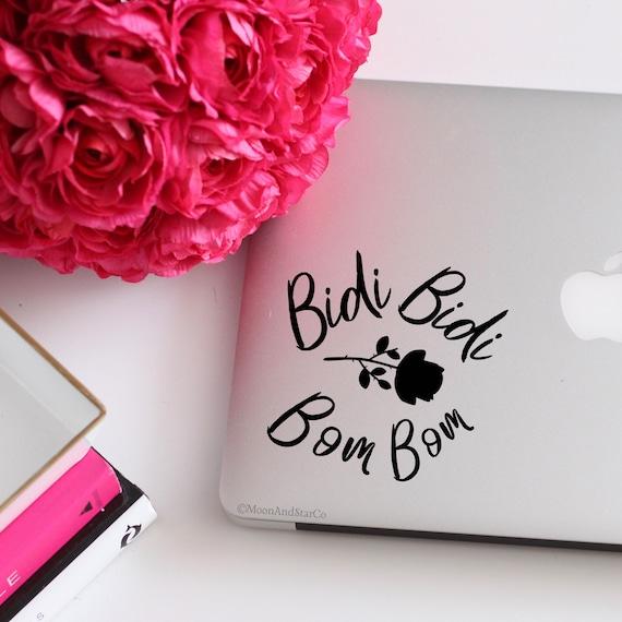 Bidi Bidi Bom Bom Selena Decal Selena Sticker Selena Lyric Etsy