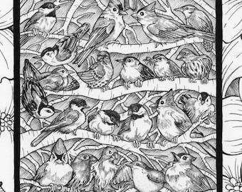 Spring Songbirds Bird Art