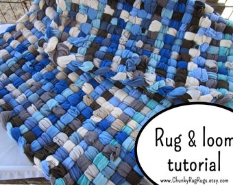 Rug Making Book How To Weave Rug Upcycle Home Decor Recycle Etsy