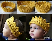 18 colors! Crochet crown baby child Toddler Adult photo prop baby shower gift present