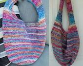 Crochet everyday tote bag purse pattern PDF instant download present gift craft shows MI designer