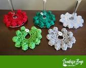 Crochet wine markers pattern PDF instant download present gift wine lovers MI designer