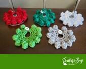Crochet wine markers wine lovers gift present Christmas Holiday stocking stuffer