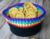Crochet St. Patricks Day pot of gold pattern PDF instant download