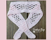 Crochet lace headband simple easy pattern PDF Instant Download present gift