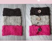 Crochet Triple Braided Headband pattern PDF instant download present gift craft shows MI designer
