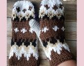 Crochet Bernie Sanders mittens pattern inspired PDF instant download MI designer