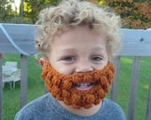18 colors! Crochet beard baby child Toddler Adult novelty funny gift present unisex