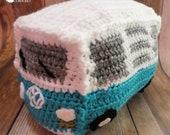 Crochet Volkswagen Bus pattern PDF download MI designer