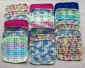 Easy simple crochet dishcloth PDF instant download present gift craft shows MI designer