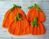 Pumpkin hat baby toddler child adult