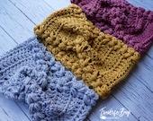 Crochet TC braided twist headband pattern baby-adult sizes PDF instant download present gift craft shows MI designer