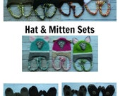 Paw Patrol crochet 7 pc lot Chase Marshall Skye Zuma Rocky Rubble Everest hat mitten toddler child PDF Instant Download gift present