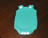 Newborn jumper romper girl boy gift present handmade MI designer