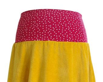 BIO Pump-Rock - Nicki - mustard yellow - dots
