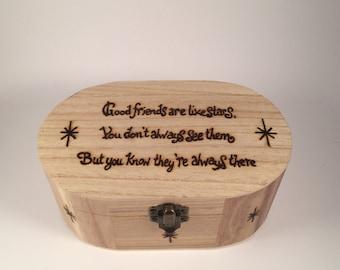 Good friends trinket box