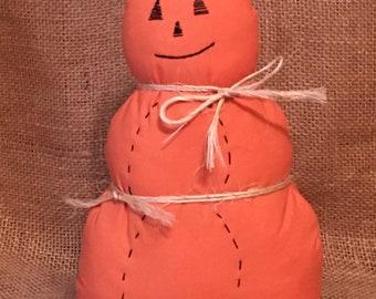 Primitive Pumpkin Man