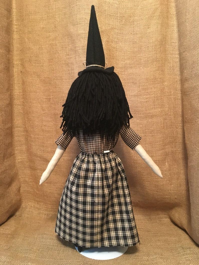 Primitive Witch Folk Art Doll