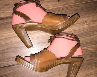 fioni heels booties