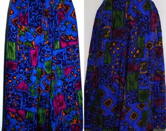 Vintage Copy-Cats Multicolor Skirt/Short Size XL