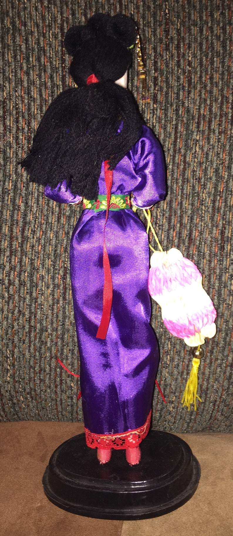 Vintage Detailed Colorful Asian Thai Tribal Ethnic Doll