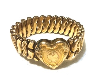 WWII Sweetheart Expansion Bracelet