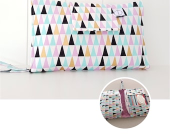 Peaks Nappy Wallet with wipes pocket
