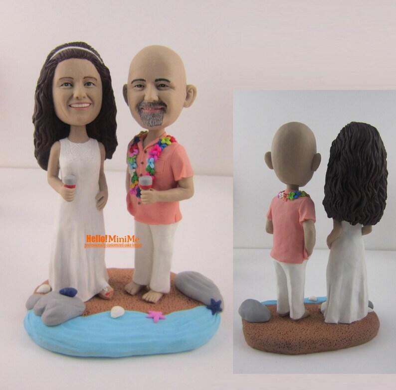 Matrimonio Tema Hawaii : Testa di bobble hawaii tema cake topper torta nuziale topper etsy