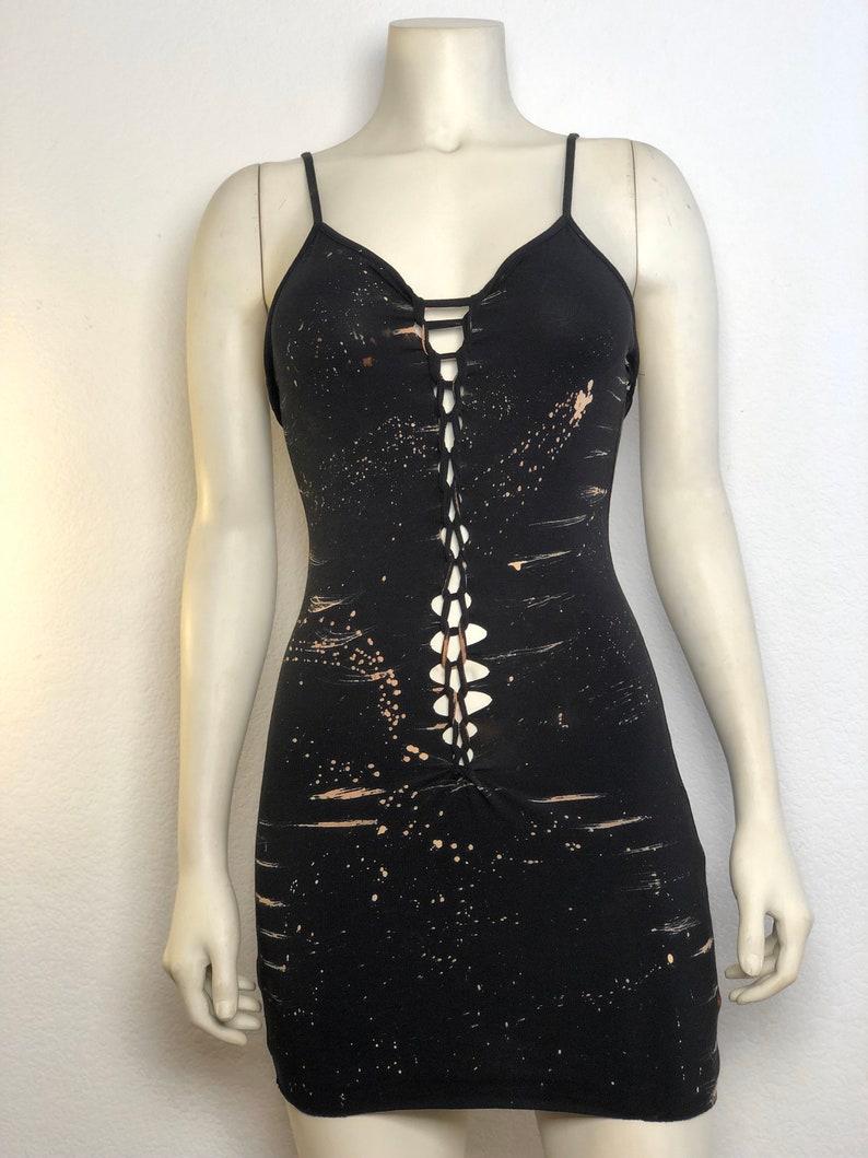 Bleached Concert Mini-DressConcert GearFestival Wear