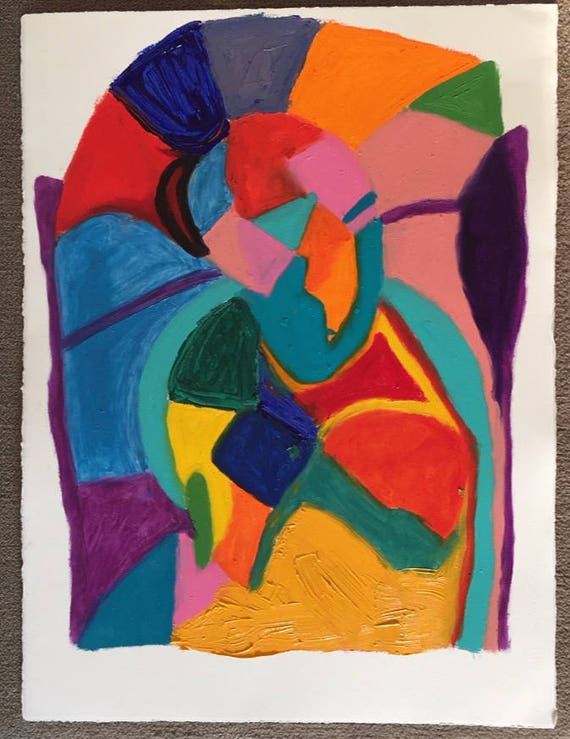 Art In Cool Colors Picasso