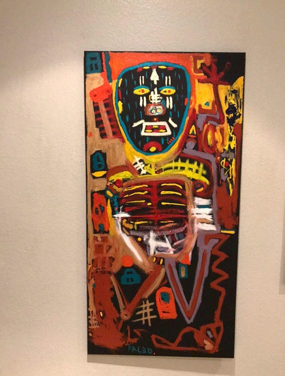Canvas Tribal Art Paintings