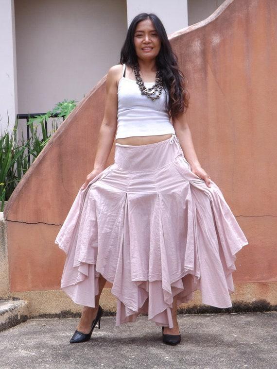 932a0c9601 Boho Skirt / Long Skirt / Pixie Skirt / Bohemian Skirt / Maxi | Etsy