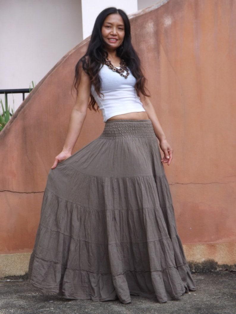 365ea463e8 Long Skirt/Long Boho Skirt/Maxi Skirt/Full Length Skirt/ | Etsy