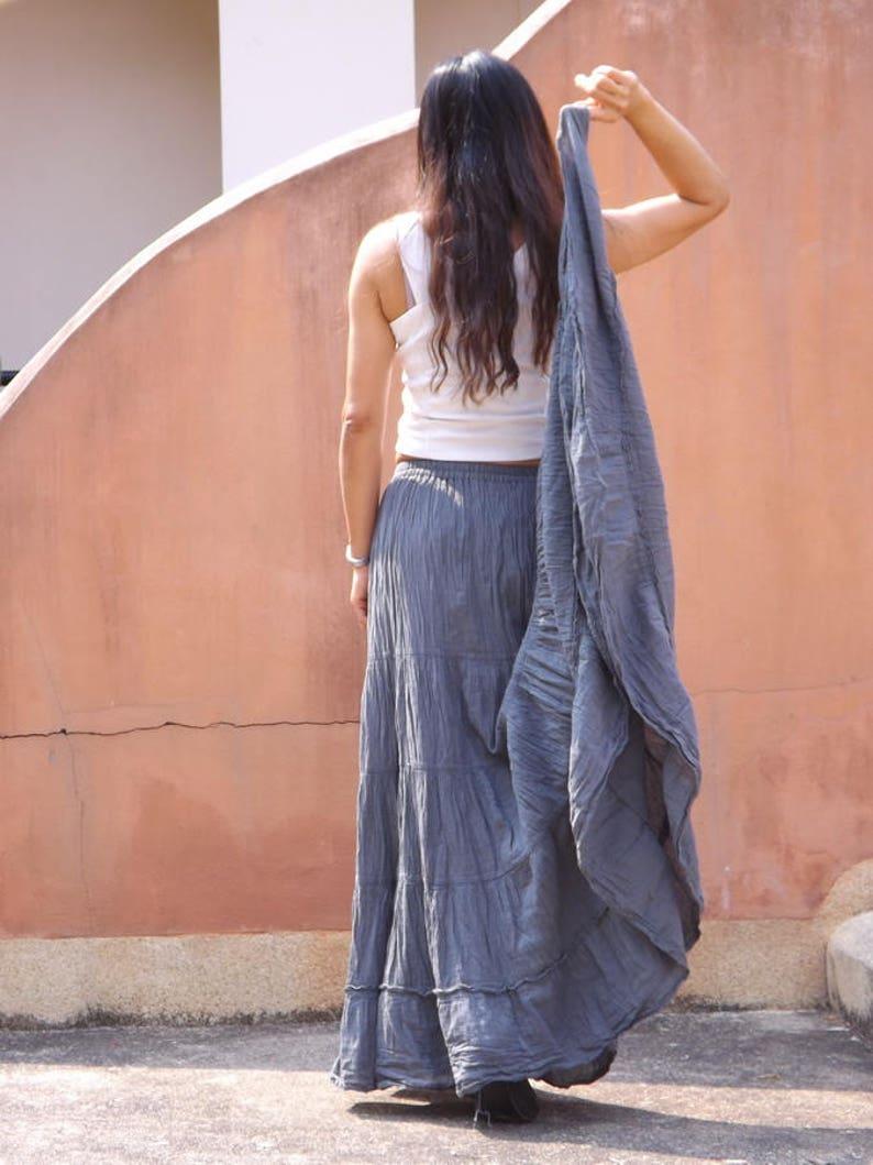 6abea1379b Long Skirt   Long Boho Skirt   Maxi Skirt   Full Length Skirt