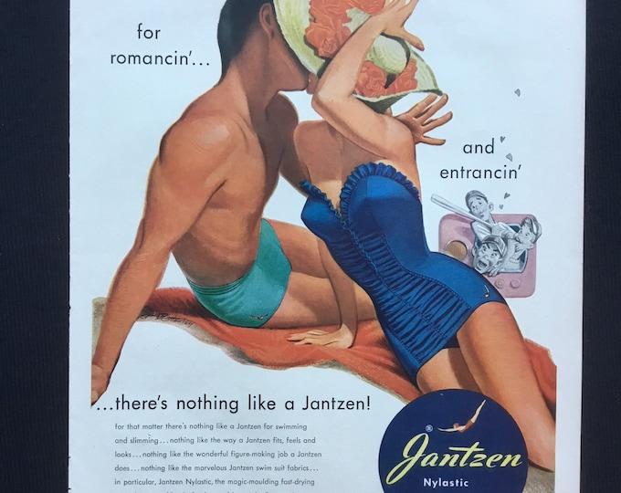 There's nothing like a Jantzen Vintage Jantzen Advertisement * Sportswear