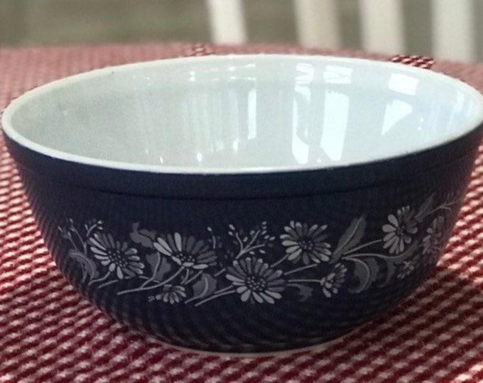 Vintage Pyrex Blue Colonial Mist Mixing Bowl #403 2-1/2 Quart