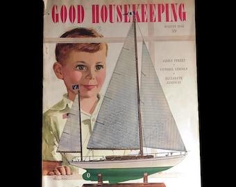 August 1947 Good Housekeeping * Vintage Magazine