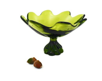 Viking Epic Twist Compote * 8.5  Inch * Green