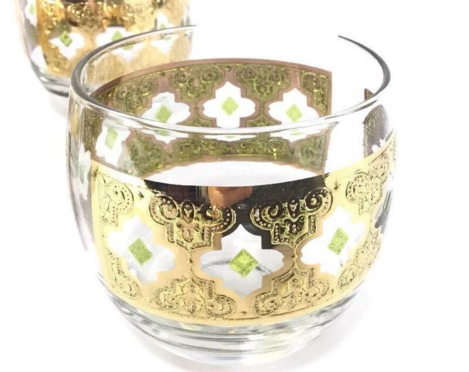 Vintage Roly-Poly Drinkware * Valencia Barware * Set of 4