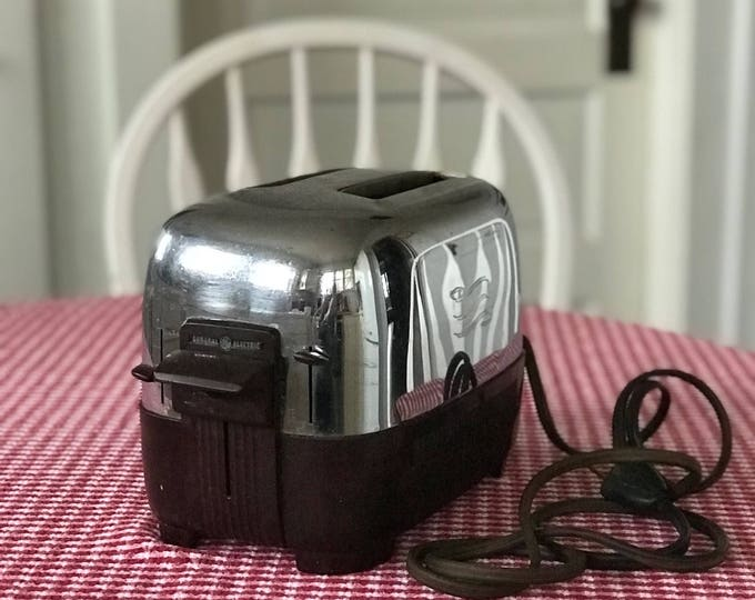 Vintage General Electric Toaster *Automatic * 2 Slice