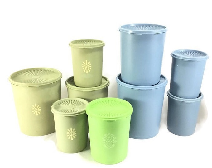 Sold Individually * Vintage Tupperware Servalier Replacement Canister with Lid