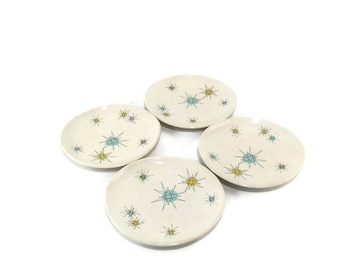 8 Inch Luncheon/Salad Plates * Gladding McBean Franciscan Starburst * Sold Individually or in Sets