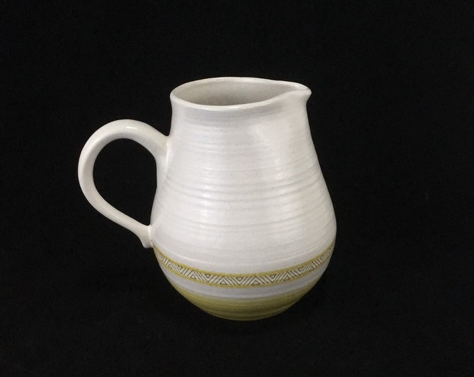 Large Pitcher * Franciscan Earthenware Hacienda Gold